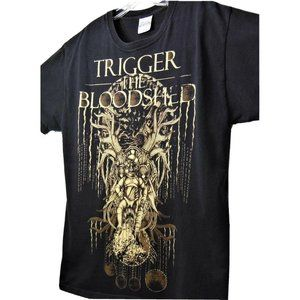 TRIGGER THE BLOODSHED Tree Throne Baby Band Shirt